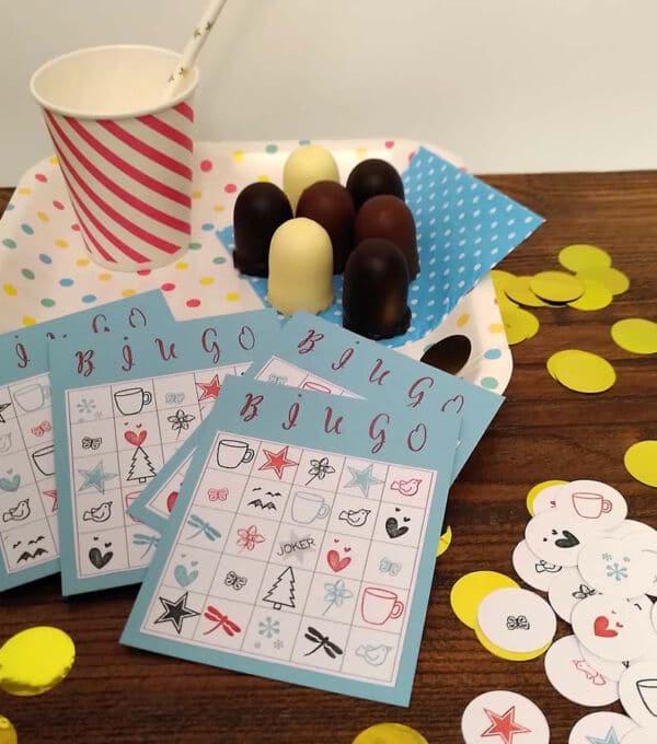 selbstgemachtes bingo für kinder