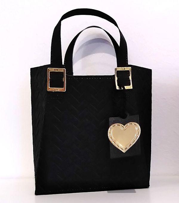 schwarze designer handtasche basteln mit stampin up