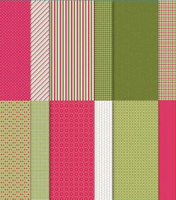 Designerpapier Stampin Up Weihnachten im Herzen