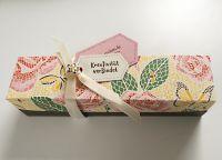geschenkbox aus dem papier maerchenhaftes mosaik