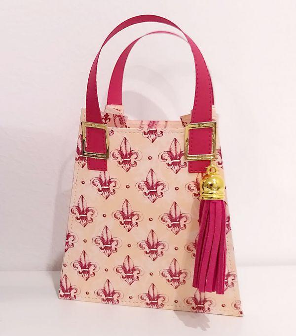 handtasche basteln mit designerpapier frühling in paris