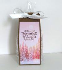 keksverpackung selbst basteln mit papier von stampin up