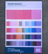 basic designerpapier von stampin up
