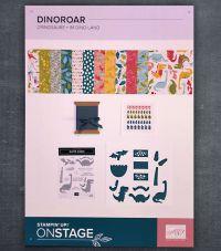 übersicht produktreihe im dinolang von onstage stampin up