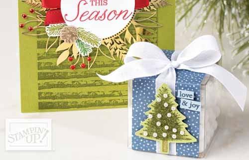 stampin up weihnachtsideen zum basteln