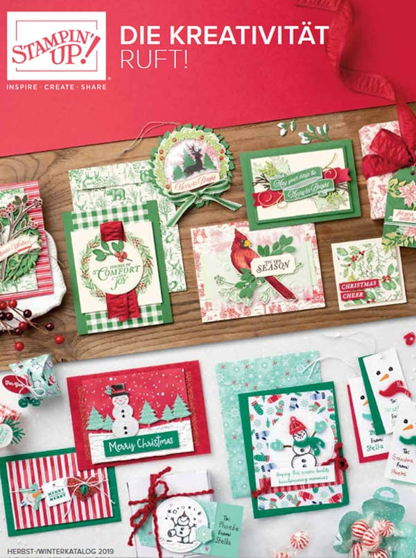 stampin up katalog herbst winter 2019 cover