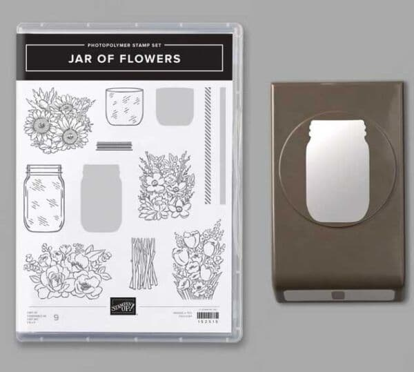 Produktpaket jar of flowers stampin up