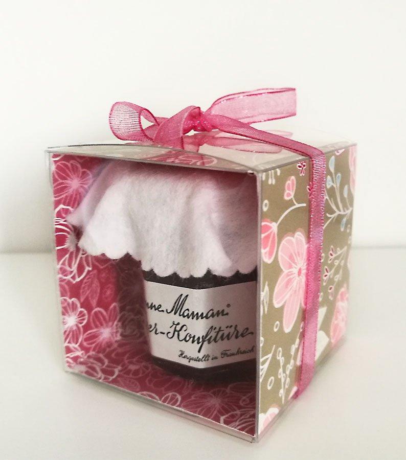 Relativ Verpackung basteln für Mini-Marmelade Anleitung | Papierschaetzchen ZP19